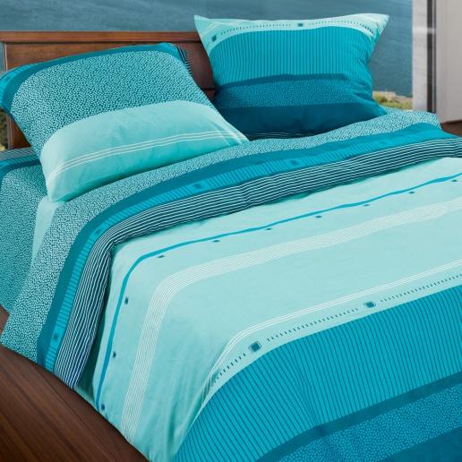 Комплект белья Wenge Line, 2-спальный, наволочки 70х70, цвет: бирюзовый, темно-синий. 299469299469Стильный комплект постельного белья Wenge Line выполнен из ткани Биокомфорт, произведенной из натурального 100% хлопка. Ткань приятная на ощупь, при этом она прочная, хорошо сохраняет форму и легко гладится. Ткань прекрасно пропускает воздух и за ней легко ухаживать. Комплект состоит из пододеяльника, простыни и двух наволочек, оформленных оригинальным принтом. Благодаря такому комплекту постельного белья вы создадите неповторимую атмосферу в вашей спальне.