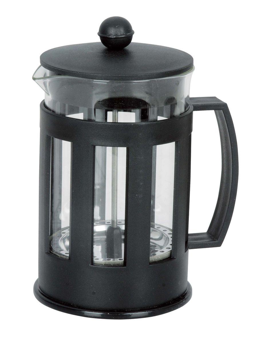 Френч-пресс Miolla, 850 мл1014041UФренч-пресс Miolla используется для заваривания кофе, крупнолистового чая, травяных сборов. Изготовлен из высококачественной нержавеющей стали и упрочненного термостойкого стекла, выдерживающего высокую температуру, что придает ему надежность и долговечность. Пластиковые детали выполнены из прочного нетоксичного материала. Не использовать в микроволновой печи. Нельзя мыть в посудомоечной машине.