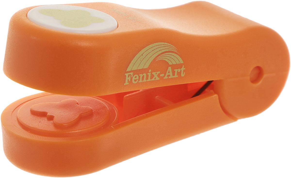 Панч-дырокол Феникс+ Бабочка, цвет: оранжевый, 16 мм37209Панч-дырокол Феникс+ Бабочка, изготовленный из прочного пластика, предназначен дляхудожественно-оформительских работ. Данное приспособление создает тиснение на бумаге, с егопомощью можно украсить подарочные открытки, конверты, этикетки, закладки, пригласительныеи другие изделия из бумаги и картона. Размер панч-дырокола: 6,6 см х 2,4 см х 3,2 см. Диаметр готовой фигурки: 16 мм.
