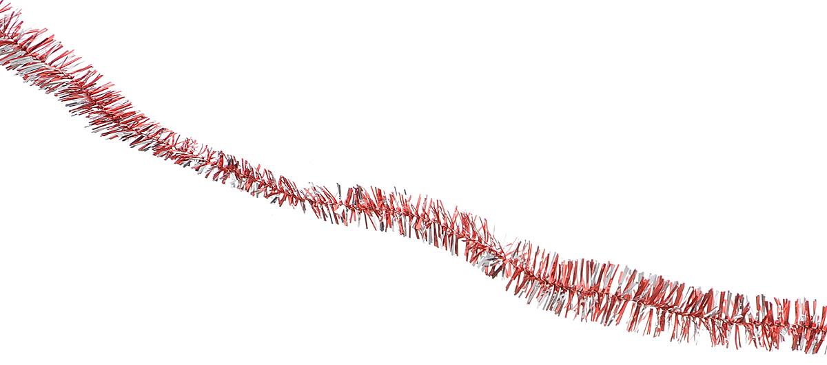 Мишура новогодняя Sima-land, цвет: красный, серебристый, диаметр 1,5 см, длина 127 м. 701303701303_красный/серебристыйНовогодняя мишура Sima-land, выполненная из фольги, поможет вам украсить свой дом к предстоящим праздникам. А новогодняя елка с таким украшением станет еще наряднее. Мишура армирована, то есть имеет проволоку внутри и способна сохранять приданную ей форму. Новогодней мишурой можно украсить все, что угодно - елку, квартиру, дачу, офис - как внутри, так и снаружи. Можно сложить новогодние поздравления, буквы и цифры, мишурой можно украсить и дополнить гирлянды, можно выделить дверные колонны, оплести дверные проемы.