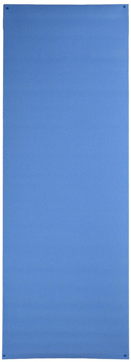 Коврик для йоги Ironmaster, цвет: синий, 173 см х 61 см х 0,6 см5455LWКлассический коврик для йоги Ironmaster, сделанный из ПВХ, имеет нескользящую поверхность, благодаря чему ваши занятия будут безопасны и эффективны. Коврик легкий и просто сворачивается, его удобно транспортировать и хранить. Где бы вы ни занимались, коврик всегда можно взять с собой. С этим ковриком вы легко и быстро приведете себя в форму.Йога: все, что нужно начинающим и опытным практикам. Статья OZON Гид