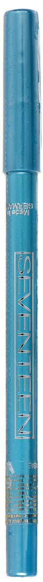 SEVENTEEN Карандаш для век водостойкий т.17 с витамин.Е Super Smooth W/P&Longstay бирюзовый, 1,2 гр51147517Мягкий, водостойкий, механический карандаш для век Seventeen Super Smooth очень удобен в использовании: не требует затачивания, так как механизм карандаша двигается в двух направлениях. Благодаря мягкой структуре, легко и гладко наносит линию. Не растекается. Офтальмологически тестирован. Разрешается лицам, носящим контактные линзы. Содержит витамин Е и масло Жожоба.Товар сертифицирован.
