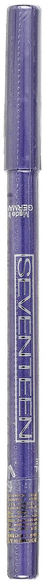 SEVENTEEN Карандаш для век водостойкий т.37 с витамин.Е Super Smooth W/P&Longstay пурпурный, 1,2 гр51147537Мягкий, водостойкий, механический карандаш для век Seventeen Super Smooth очень удобен в использовании: не требует затачивания, так как механизм карандаша двигается в двух направлениях. Благодаря мягкой структуре, легко и гладко наносит линию. Не растекается. Офтальмологически тестирован. Разрешается лицам, носящим контактные линзы. Содержит витамин Е и масло Жожоба. Товар сертифицирован.