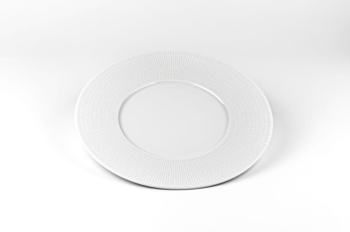 Zen Asymetrie Blanc 2161, набор тарелок 27 см (6шт), цвет: белый839002 2161В наборе тарелка 27 см 6 штук Материал: фарфор: цвет: белыйСерия: ZEN