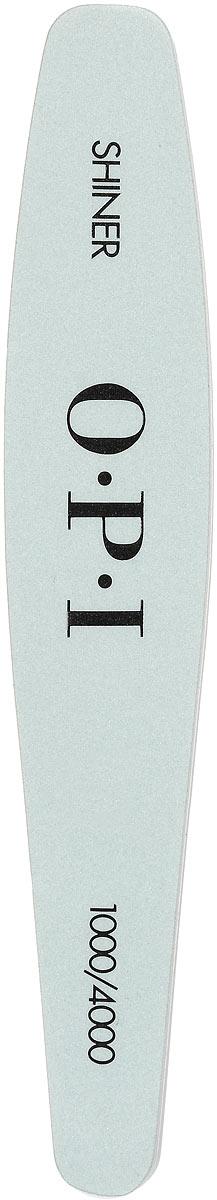 OPI Бафф для придания блеска ногтям Shiner File, цвет: серебряный. FI651FI651Бафф OPI Shiner File - основной инструмент мастера по маникюру и педикюру для полировки ногтей. Полирует смоделированные ногти до бриллиантового блеска, удаляет царапины, подготавливает искусственную поверхность к нанесению лака на ногти, смолы или верхнего покрытия для лака.Товар сертифицирован.