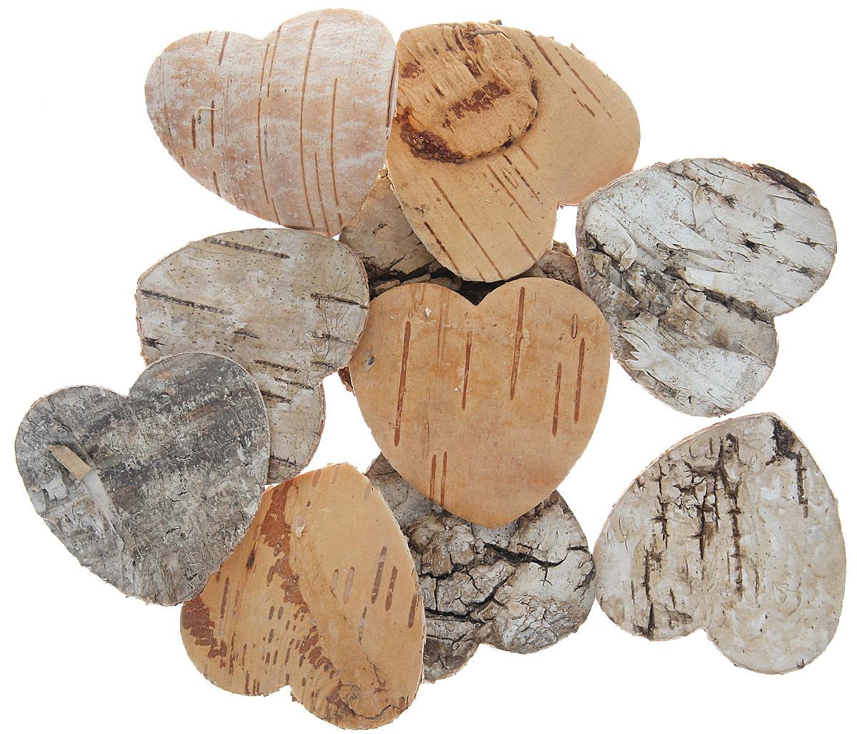 Декоративный элемент Dongjiang Art Сердце, цвет: светло-коричневый, 10 шт7709004_отбеленныйДекоративный элемент Dongjiang Art Сердце, изготовленный из натуральной коры дерева, предназначен дляукрашения цветочных композиций. Изделие можно также использовать в технике скрапбукинг и многом другом.Флористика - вид декоративно-прикладного искусства, который использует живые, засушенные иликонсервированные природные материалы для создания флористических работ. Это целый мир, в котором естьместо и строгому математическому расчету, и вдохновению. Размер одного элемента: 5 см х 5 см.