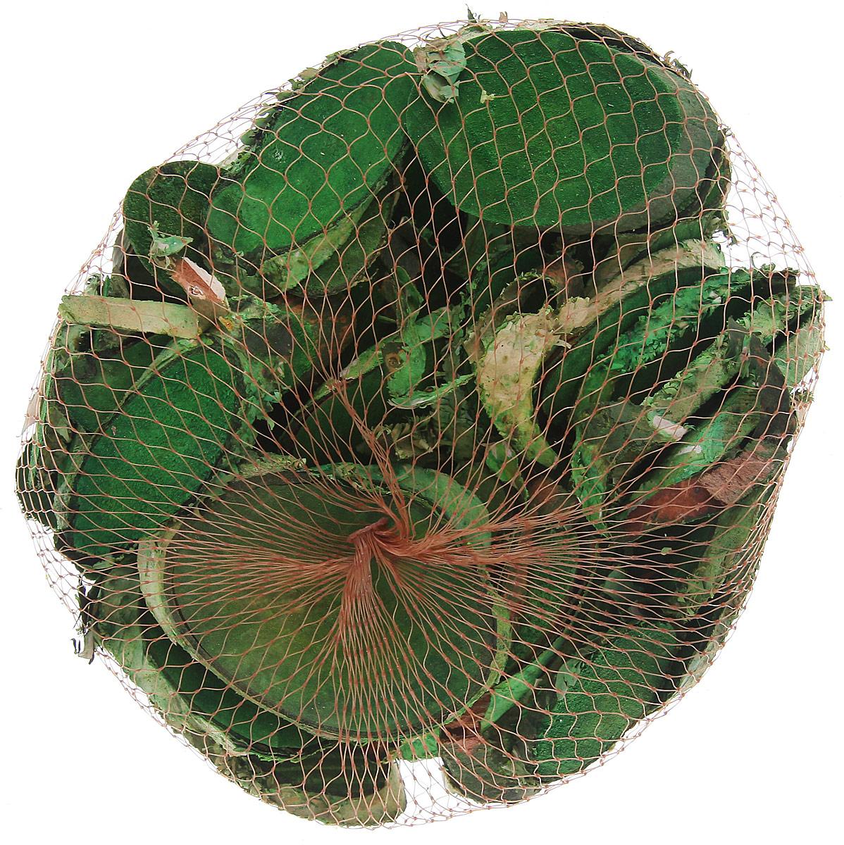 Декоративный элемент Dongjiang Art Срез ветки, цвет: зеленый, толщина 7 мм, 250 г7708981_зеленыйДекоративный элемент Dongjiang Art Срез ветки изготовлен из дерева.Изделие предназначено для декорирования. Срез может пригодиться во флористике и многом другом. Декоративный элемент представляет собой тонкий срез ветки. Флористика - вид декоративно-прикладного искусства, который использует живые, засушенные или консервированные природные материалы для создания флористических работ. Это целый мир, в котором есть место и строгому математическому расчету, и вдохновению, полету фантазии. Толщина среза: 7 мм.