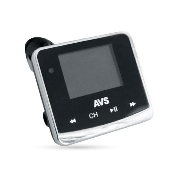 AVS F-558, Black MP3-плеер + FM-трансмиттер с дисплеем и пультом43045AVS F-558 работает с любым USB, microSD, HD накопителями, а также с плеерами MP3, CD, PMP, DVD, PDA. Устройство также совместимо с любой автомобильной аудиосистемой с FM-радио. FM-трансмиттер передаёт сигналы вашего плеера (либо запись с карты памяти) в радиодиапазоне FM, обеспечивая удобное прослушивание удобной музыки через FM-тюнер аудиосистемы автомобиля, не используя наушники.Диапазон частот: 20 - 15000 ГцМаксимальный объем карты памяти: 32 ГБРадиус действия: 10 мПоддержка файлов: MP3, WMAЧтение папокПоддержка RDS