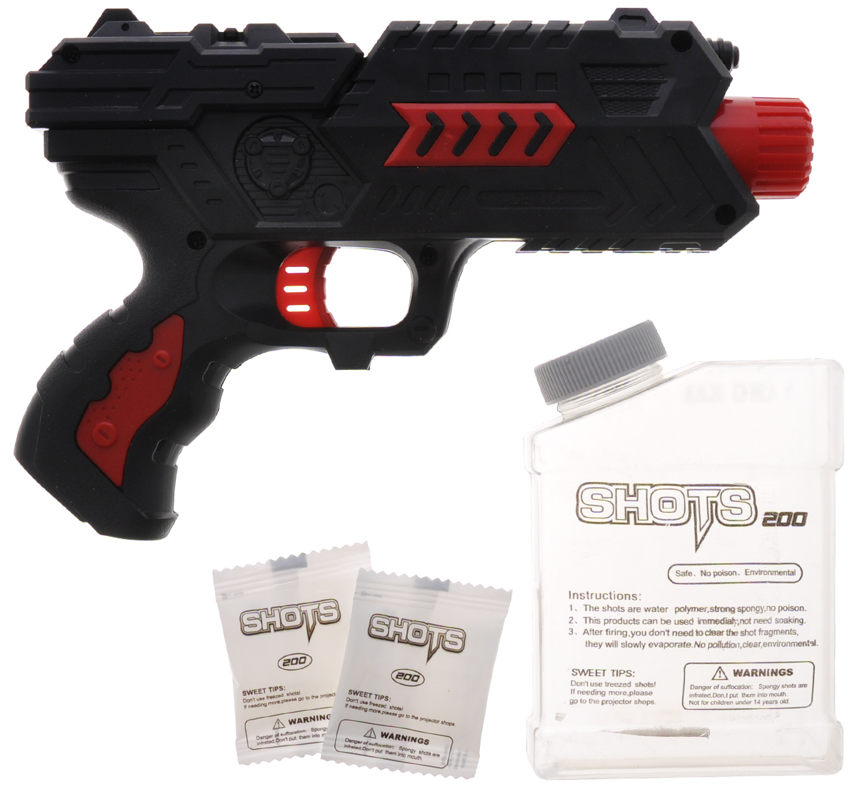 Dream Makers Пистолет Защитник ПЗК-15 цвет черный красный
