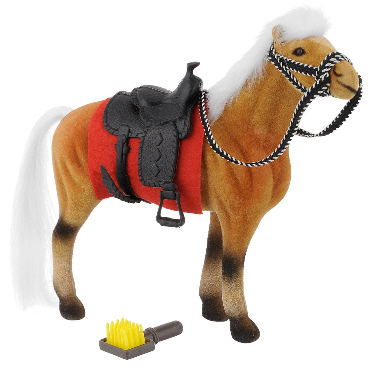 Играем вместе Фигурка Лошадь цвет рыжий 17 см игровые фигурки играем вместе лошадь 14см
