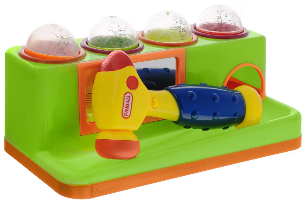 Junfa Toys Игрушка-сортер с молотком цвет зеленый игрушка junfa phantom a1001 01