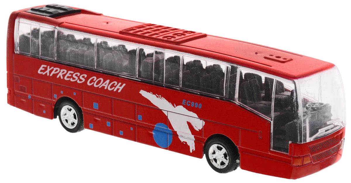 Big Motors Автобус инерционный Cheerful Bus цвет красный big игрушки