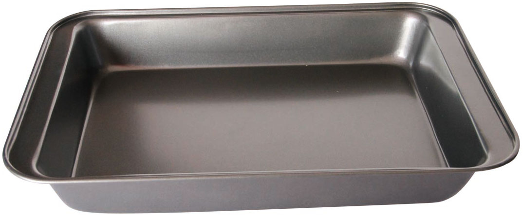 Противень Bekker, 47,5 х 31,5 х 5 см. BK-3998BK-3998Противень Bekker прямоугольной формы изготовлен из высококачественнойуглеродистой стали с антипригарным покрытием Goldflon. Изделие имеет гладкуюповерхность и стильный дизайн.Подходит для использования в духовом шкафу. Рекомендована ручнаячистка. Размер с учетом стенок: 47,5 x 31,5 x 5 см. Размер рабочей поверхности: 40 x 26,5 см. Толщина стенки: 0,4 мм.