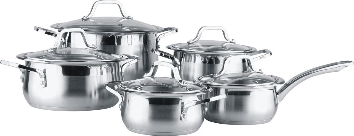 Набор посуды Winner WR-1001, 10 предметов кастрюля pasta vitro с крышкой 5 9 л