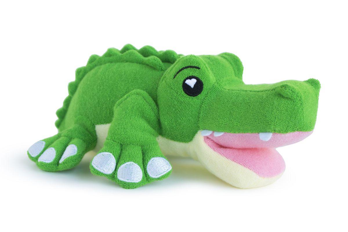 SoapSox губка для тела Крокодил Хантер502Губка для тела от SoapSox «Крокодил Хантер» - запатентованная технология, сочетает в себе сетчатый материал и антимикробную губку для создания максимума пены. Кто знал, что мыться настолько весело? Коллекция уникальных мочалок в образе животных, сделает купание незабываемым, занимательным, а главное веселым для детей и легким для родителей. Просто наполните кармашек SoapSox жидким мылом или поместите твердое мыло внутрь зверюшки, а затем опустите её в воду. Каждый день малыш с нетерпением будет ждать купания. Все персонажи созданы для того, чтобы развлекать вашего ребенка в то время, пока вы будете его мыть.