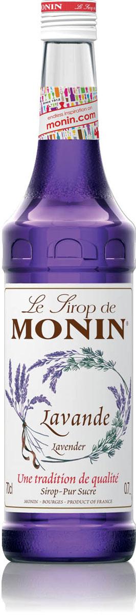Monin Лаванда сироп, 0,7 лSMONN0-000091Сироп Monin Лаванда имеет красивый цвет и отличительный аромат, который напомнит вам о цветах и ароматах Прованса. Уникальный букет цветочных ароматов, который также включает в себя жасмин, розу и фиалку. Большинство людей ассоциируют с лавандой ее использование в парфюмерии и ароматерапии. Лаванда использовалась в течение многих тысячелетий, по крайней мере начиная с Римской империи. Прекрасный цветок для многих декоративных элементов, большой акцент во многих рецептах от блюд до десертов. Все цветочные сиропы Monin идеальны для придания свежего цветочного аромата и удивительного разнообразия напитков и продуктов питания.Сиропы Monin выпускает одноименная французская марка, которая известна как лидирующий производитель алкогольных и безалкогольных сиропов в мире. В 1912 году во французском городке Бурже девятнадцатилетний предприниматель Джордж Монин основал собственную компанию, которая специализировалась на производстве вин, ликеров и сиропов. Место для завода было выбрано не случайно: город Бурже находился в непосредственной близости от крупных сельскохозяйственных районов — главных поставщиков свежих ягод и фруктов.Производство сиропов стало ключевым направлением деятельности компании Monin только в 1945 году, когда пост главы предприятия занял потомок основателя — Пол Монин. Именно под его руководством ассортимент марки пополнился разнообразными сиропами из натуральных ингредиентов, которые молниеносно заслужили блестящую репутацию в кругу поклонников кофейных напитков и коктейлей. По сей день высокое качество остается базовым принципом деятельности французской марки. Сиропы Монин создаются исключительно из натуральных ингредиентов по уникальным технологиям, позволяющим сохранять в готовом продукте все полезные свойства природного сырья.Эксперты всего мира сходятся во мнении, что сиропы Monin — это законодатели мод в миксологии. Ассортимент французской марки на сегодняшний день является самым широким и насчитывает полторы