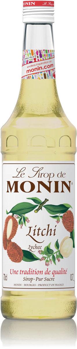 Monin Личи сироп, 0,7 лSMONN0-000069Сироп Monin Личи сочетает в себе сладкий, экзотический аромат подобный дыне и блестящий золотой цвет.Личи, также известный как - litchis, были ценными плодами в Китае еще более двух тысяч лет. Личи отлично едят свежими или высушенными на солнце, как орехи личи.Сиропы Monin выпускает одноименная французская марка, которая известна как лидирующий производитель алкогольных и безалкогольных сиропов в мире. В 1912 году во французском городке Бурже девятнадцатилетний предприниматель Джордж Монин основал собственную компанию, которая специализировалась на производстве вин, ликеров и сиропов. Место для завода было выбрано не случайно: город Бурже находился в непосредственной близости от крупных сельскохозяйственных районов - главных поставщиков свежих ягод и фруктов.Производство сиропов стало ключевым направлением деятельности компании Monin только в 1945 году, когда пост главы предприятия занял потомок основателя - Пол Монин. Именно под его руководством ассортимент марки пополнился разнообразными сиропами из натуральных ингредиентов, которые молниеносно заслужили блестящую репутацию в кругу поклонников кофейных напитков и коктейлей. По сей день высокое качество остается базовым принципом деятельности французской марки. Сиропы Монин создаются исключительно из натуральных ингредиентов по уникальным технологиям, позволяющим сохранять в готовом продукте все полезные свойства природного сырья.Эксперты всего мира сходятся во мнении, что сиропы Monin - это законодатели мод в миксологии. Ассортимент французской марки на сегодняшний день является самым широким и насчитывает полторы сотни уникальных вкусовых решений. В каталоге компании можно найти как классические вкусы для кофейных напитков (шоколадный, ванильный, ореховый и другие сиропы), так и весьма экзотические варианты (сиропы со вкусом кокоса, зеленой мяты, тирамису, блю курасао, аниса, грейпфрута, пина колады и т. д.). Отметим, что все сиропы обладают мягкими, деликатными вкусовыми и аро