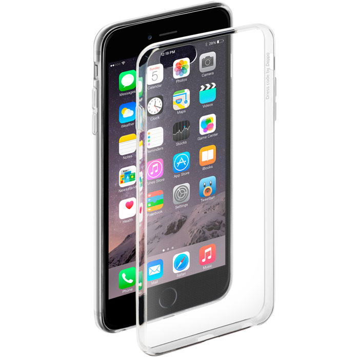 Deppa Gel Case чехол для Apple iPhone 6 Plus/6s Plus, Clear deppa art для apple iphone 6 6s plus 100581