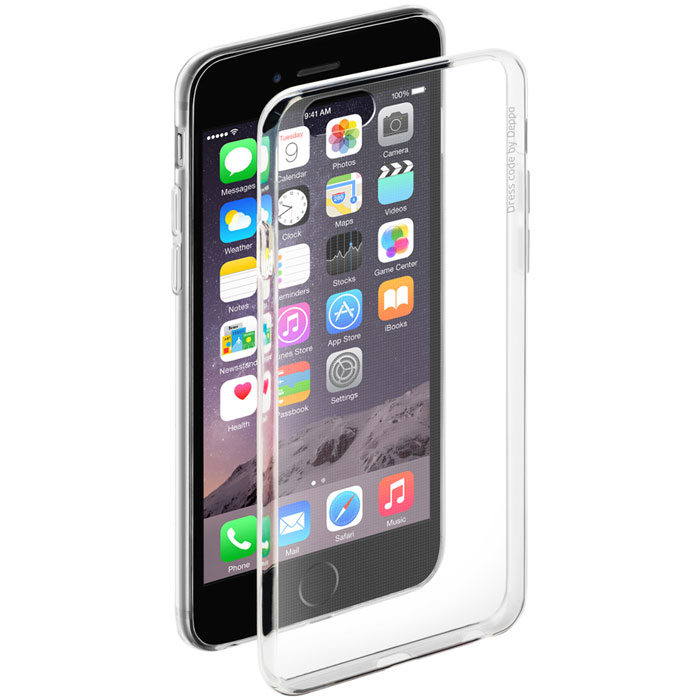 Deppa Gel Case чехол для Apple iPhone 6/6s, Clear deppa air case для apple iphone 6 6s white