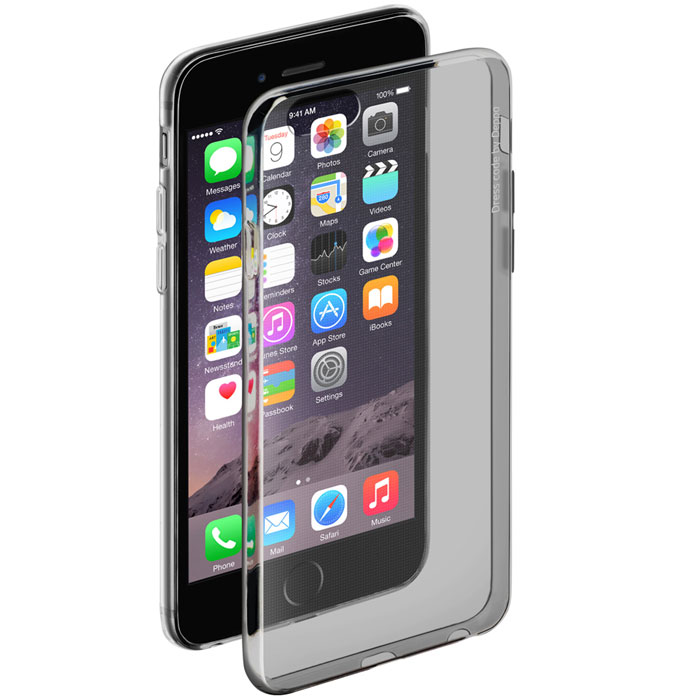 все цены на Deppa Gel Case чехол для Apple iPhone 6/6s, Clear Black