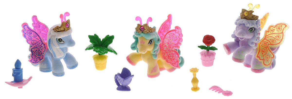 Filly Игровой набор Filly Бабочки с блестками цвет голубой желтый сиреневый игровые наборы dracco набор игровой filly русалочки танцевальная сцена