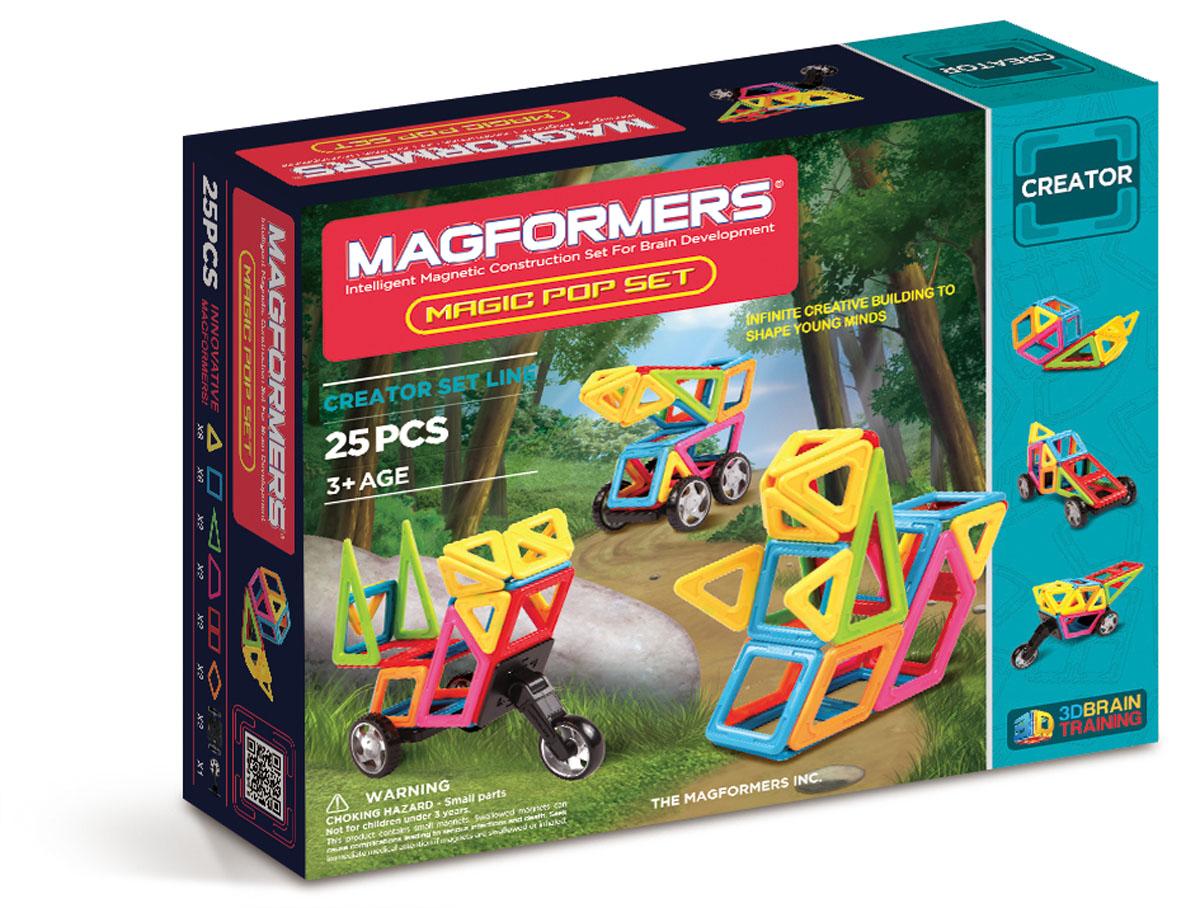 Magformers Магнитный конструктор Magic Pop Set магнитный конструктор magformers space treveller set 35 элементов 703007