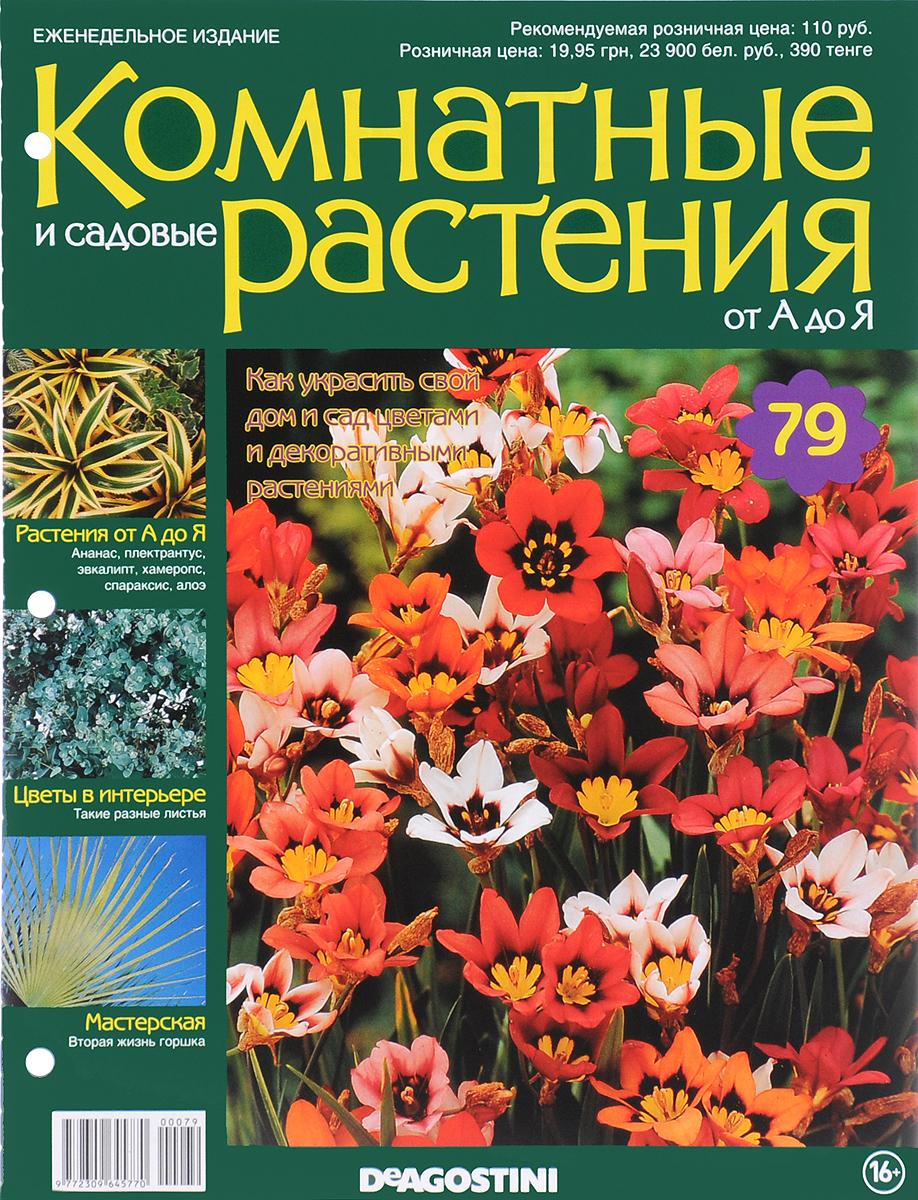 Журнал Комнатные и садовые растения. От А до Я №79 журнал комнатные и садовые растения от а до я 141