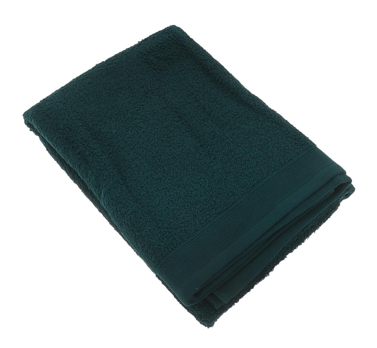Полотенце махровое Guten Morgen, цвет: темно-зеленый, 70 х 140 смПМиз-70-140Махровое полотенце Guten Morgen, изготовленное из натурального хлопка, прекрасно впитывает влагу и быстро сохнет. Высокая плотность ткани делает полотенце мягкими, прочными и пушистыми. При соблюдении рекомендаций по уходу изделие сохраняет яркость цвета и не теряет форму даже после многократных стирок. Махровое полотенце Guten Morgen станет достойным выбором для вас и приятным подарком для ваших близких. Мягкость и высокое качество материала, из которого изготовлено полотенце, не оставит вас равнодушными.