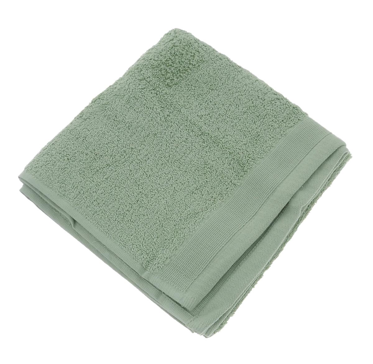 """Полотенце махровое """"Guten Morgen"""", цвет: светло-зеленый, 50 см х 100 см"""