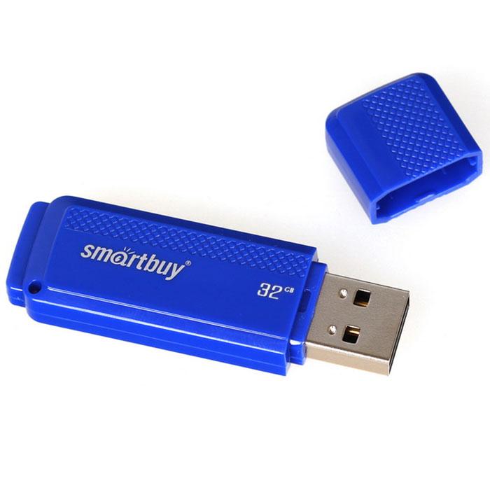 SmartBuy Dock 32GB, Blue USB-накопительSB32GBDK-BФлеш-накопитель SmartBuy Dock 32GB представлен в ярком синем цвете. Легкий и удобный, выручит вас в любой сложной ситуации!Совместимость: Windows 8/7/XP/2000/Vista, Mac OS 8.6 и Linux 2.4.0 (или выше)Пропускная способность интерфейса: 480 Мбит/сек