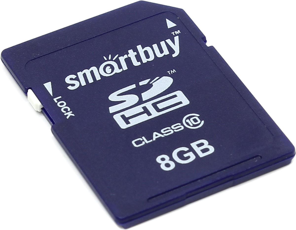 SmartBuy SDHC Class 10 8GB карта памятиSB8GBSDHCCL10Если необходимо хранить информацию не один год и при этом нет источника питания, то карты памяти Smartbuy SD SDHCдля вас. Это универсальный инструмент хранения различной информации, при этом если устройства с которыми вы работаете поддерживают стандарт SD 3.0, то ваш помощник Smartbuy SD SDHCспособен достигать скорости 20 МБ/с. Эта карты памяти способна эффективно работать в телефонах, коммуникаторах, фотоаппаратах, принтерах, компьютерах, ноутбуках.