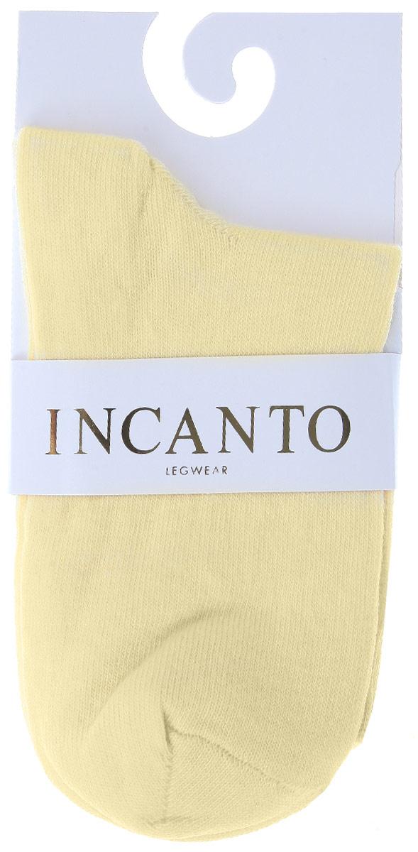 Носки женские Incanto Collant, цвет: светло-желтый (Giallo Chiaro). IBD733003. Размер 2 (36/38)IBD733003_Giallo ChiaroЖенские носки Incanto Collant изготовлены из высококачественного сырья. Носки очень мягкие на ощупь, а резинка плотно облегает ногу, не сдавливая ее, благодаря чему вам будет комфортно и удобно.
