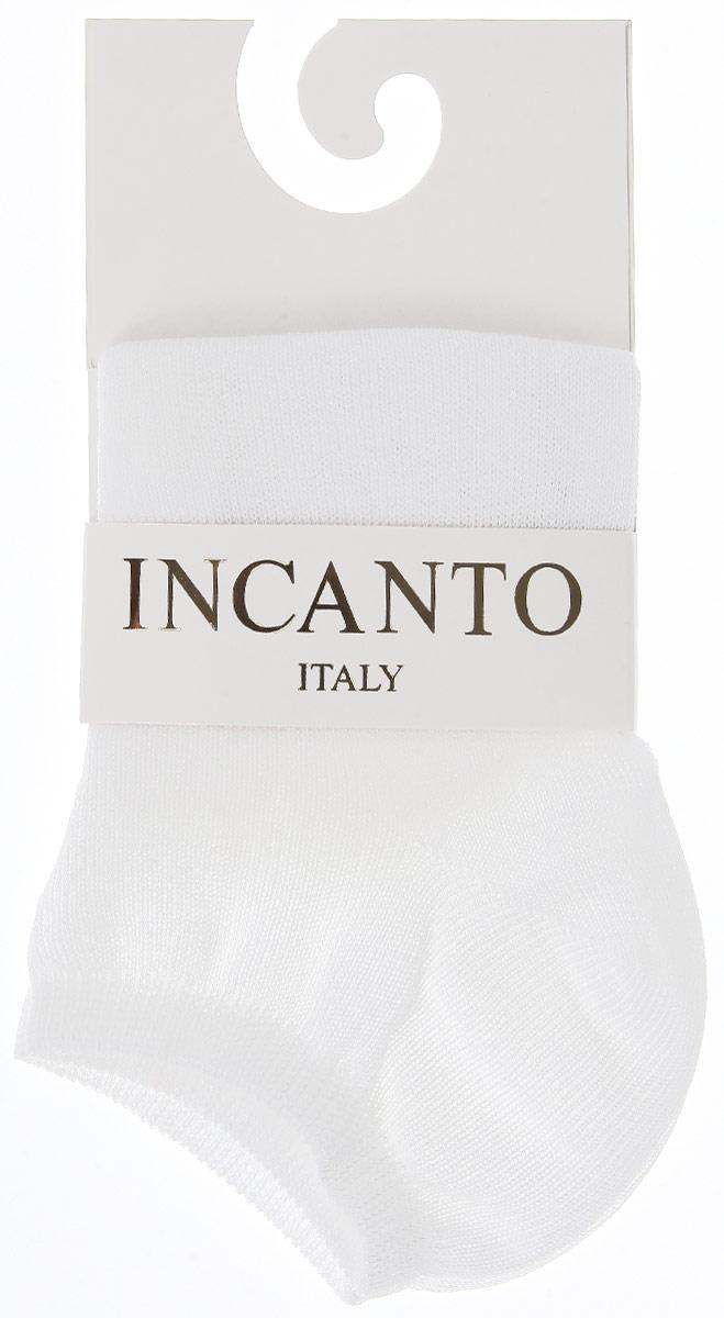 Носки женские Incanto Collant, цвет: белый (Bianco). IBD733001. Размер 3 (39/40)IBD733001_BiancoЖенские носки Incanto Collant с невысоким паголенком изготовлены из высококачественного сырья. Носки очень мягкие на ощупь, а резинка плотно облегает ногу, не сдавливая ее, благодаря чему вам будет комфортно и удобно.