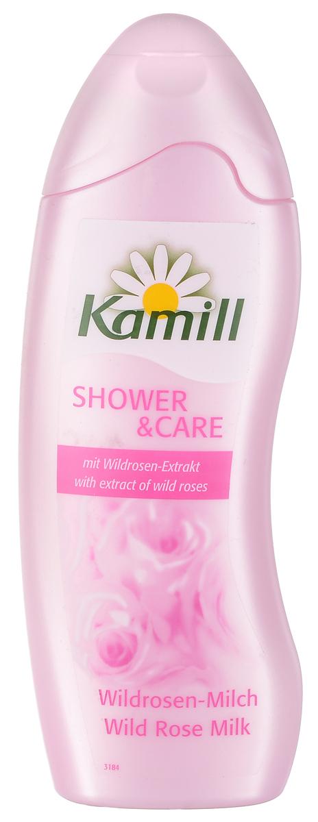 Kamill Гель для душа Дикая роза, 250 мл26950265Гель содержит экстрактные масла розы - мощное регенерирующее средство, которые способствуют повышению эластичности и упругости кожи.В лепестках этого цветка содержится высокий уровень натуральных жирных кислот, которые восстанавливают защитные функции кожи, и, как результат, эффективно борются со старением. Обладает тонким ароматом дикой розы. Прекрасно пенится и легко смывается, удаляет следы антиперспиранта.Не содержит красителей и тестирован дерматологически. Товар сертифицирован.