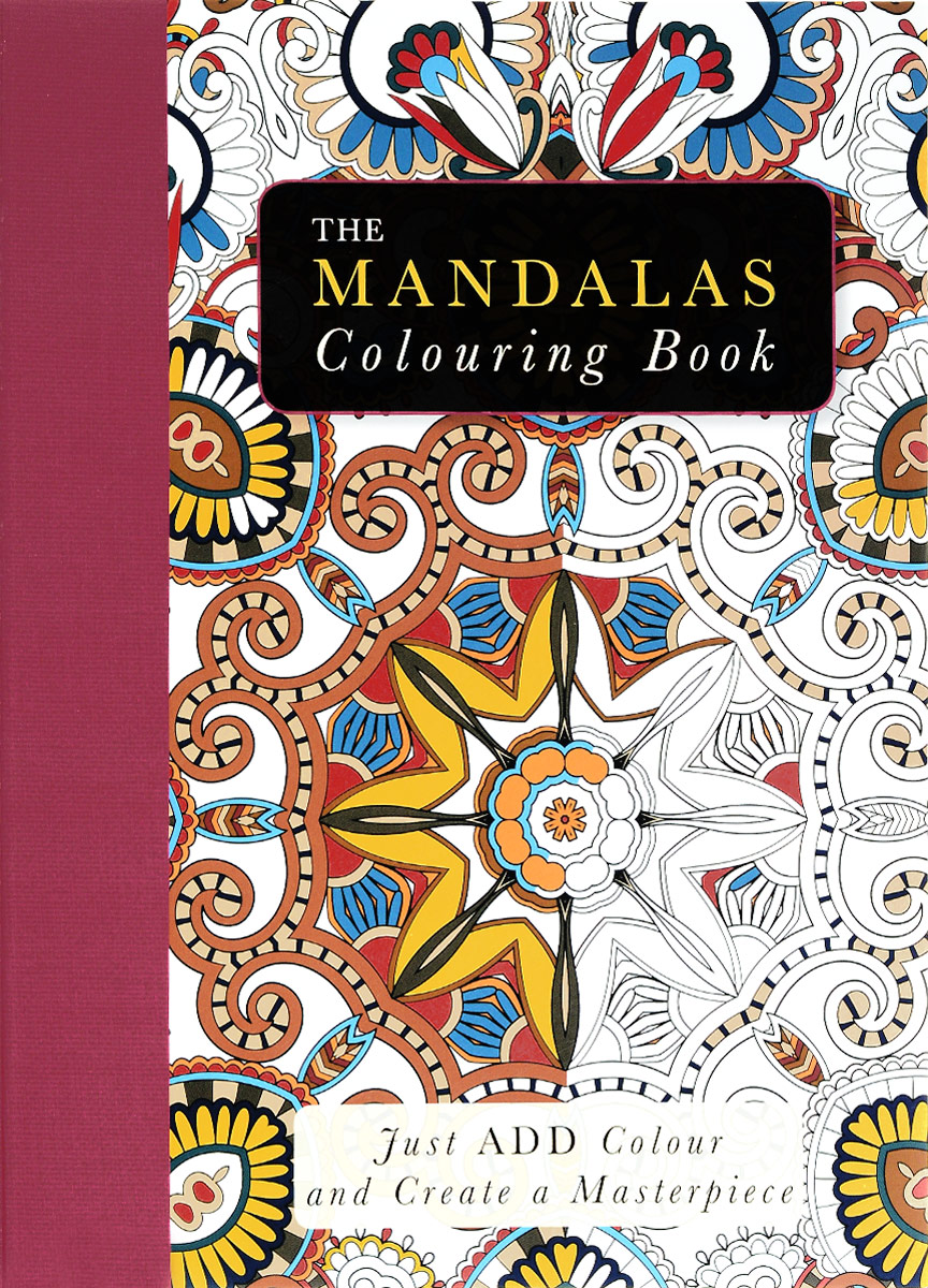The Mandalas: Colouring Book die hard the official colouring book