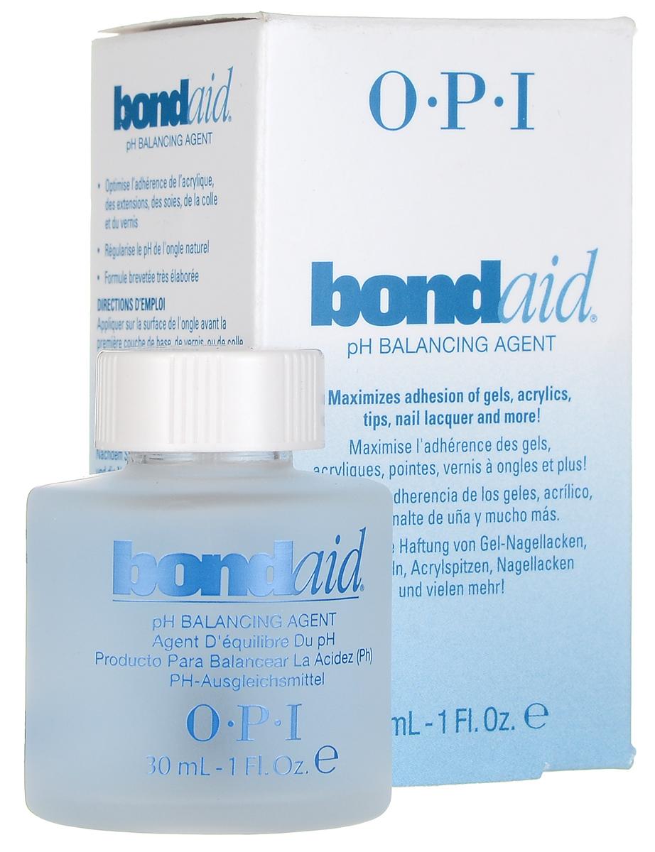 OPI Средство для ногтей Bond-Aid, восстанавливающее pH-баланс, 30 млBB010Средство для ногтей OPI Bond-Aid восстанавливает уровень кислотности ногтя, создавая необходимый pH-баланс. Рекомендуется использовать до нанесения любых покрытий. Обеспечивает максимальное крепление к поверхности натурального ногтя любых искусственных покрытий. После применения лак на ногтях продержится в 2 раза дольше.Товар сертифицирован.