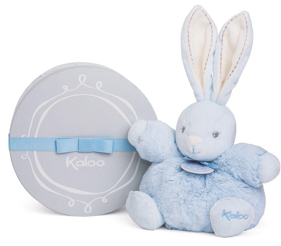 Kaloo Мягкая игрушка Заяц средний Жемчуг цвет голубой игрушки для детей