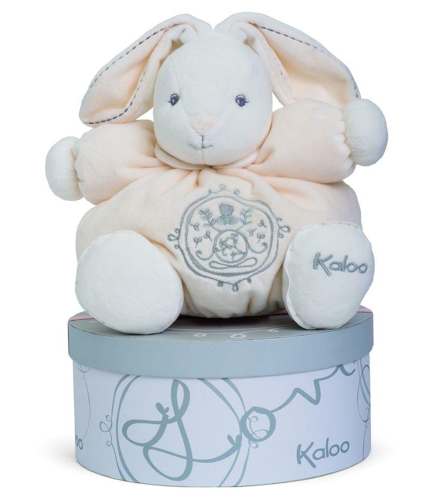 Kaloo Мягкая игрушка Заяц средний Жемчуг цвет кремовый игрушки для детей