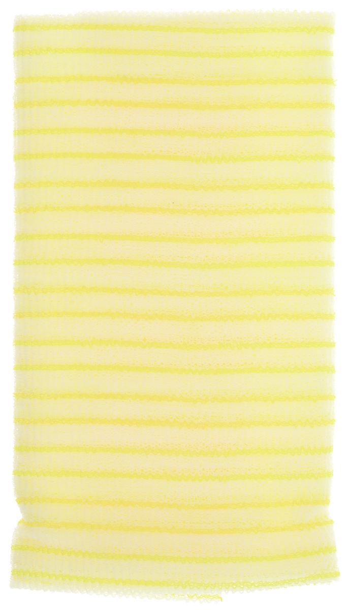 SungBo Мочалка для душа Clean&Beauty Fresh, цвет: желтый, 28 см х 100 смУТ000000670_желтыйБлагодаря оригинальной вязке из гофрированного волокна мочалка для душа SungBo Clean&Beauty Fresh создает одновременно ощущение мягкости, так и ощущение пилинга, нежно отшелушивая огрубевшую кожу. Шероховатая текстура стимулирует циркуляцию крови по всему телу, помогает сохранить здоровье и упругость кожи. Мочалка позволяет получать обильную пену, используя небольшое количество геля для душа. Ее легко мыть, и она быстро сохнет. Высококачественное волокно обеспечивает долговечность мочалки.Размер мочалки: 28 см х 100 см.Товар сертифицирован.