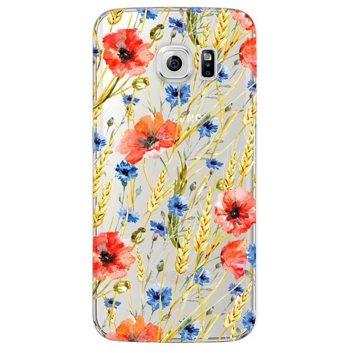 Deppa Art Case чехол для Samsung Galaxy S6 Edge, Flowers (пшеница)100121Чехол Deppa Art Case для Samsung Galaxy S6 Edge предназначен для защиты корпуса смартфона от механических повреждений и царапин в процессе эксплуатации. Имеется свободный доступ ко всем разъемам и кнопкам устройства. Чехол изготовлен из поликарбоната толщиной 0,8 мм и оформлен принтом с изображением пшеницы.В комплект также входит защитная пленка из трехслойного японского материала PET.