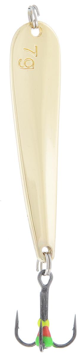 Блесна зимняя SWD, цвет: золотой, 53 мм, 7 г шимко п экономика организации учебник и практикум