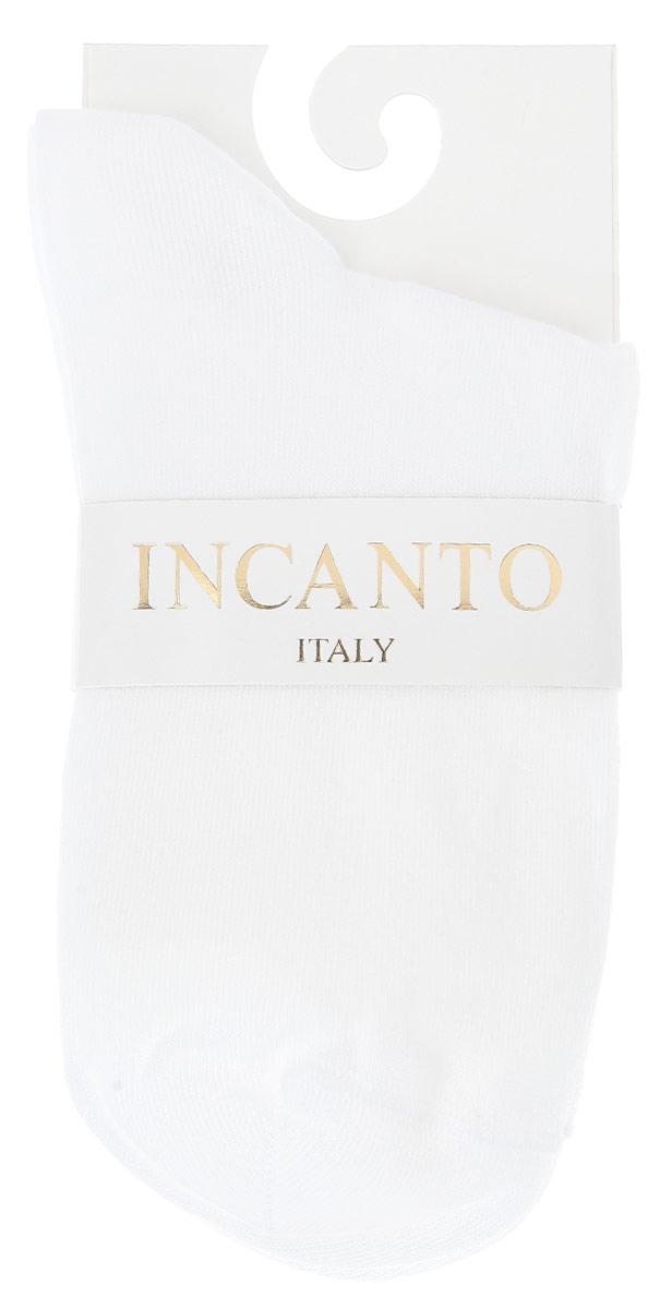 Носки женские Incanto Collant, цвет: белый (Bianco). IBD733003. Размер 2 (36/38)IBD733003_BiancoЖенские носки Incanto Collant изготовлены из высококачественного сырья. Носки очень мягкие на ощупь, а резинка плотно облегает ногу, не сдавливая ее, благодаря чему вам будет комфортно и удобно.