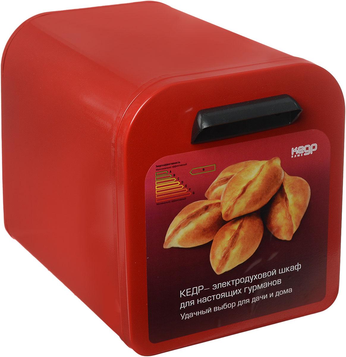 Кедр ШЖ-0,625/220, Red жарочный шкафШЖ-0,625/220 RЖарочный шкаф Кедр предназначен для выпечки в домашних условиях различных изделий из теста, а также для запекания картофеля и приготовления блюд из мяса, птицы, рыбы. Такжев нем можно сушить ягоды, грибы и фрукты. Идеален для использования дома, на даче или в гараже.Этот жарочный шкаф отличается низким энергопотреблением — всего 0,625 кВт, что обеспечивает значительную экономию электроэнергии по сравнению с микроволновой печью и бесперебойную работу в условиях нестабильного электроснабжения в сельскойместности, имеет большой срок службы — до 20-ти лет. Но, пожалуй, главная его особенность и уникальность заключается в том, что он создает эффект русской печи. Так происходит, потому что тепло по всему периметру жарочного шкафа распределяется равномерно и как бы окутывает блюдо со всех сторон. В процессе приготовления еды не задействованы микроволны, о вреде которых идет так много споров. А, значит, жарочный шкаф Кедр составит хорошую альтернативу микроволновке.Высокие вкусовые качества приготовленных блюдУвеличенный срок службы (до 20 лет)Гарантийный срок - 24 месяцаНизкое энергопотреблениеОтсутствие микроволнЛегкость и простота эксплуатацииВремя разогрева до температуры 250°С - не более 20 минутВнутренние размеры: 315 x 205 x 205 ммМатериал корпуса: металл.