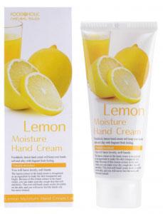 FoodaHolic Увлажняющий крем для рук с натуральным экстрактом лимона, 100 мл блуза bassini bassini ba069ewrtj62