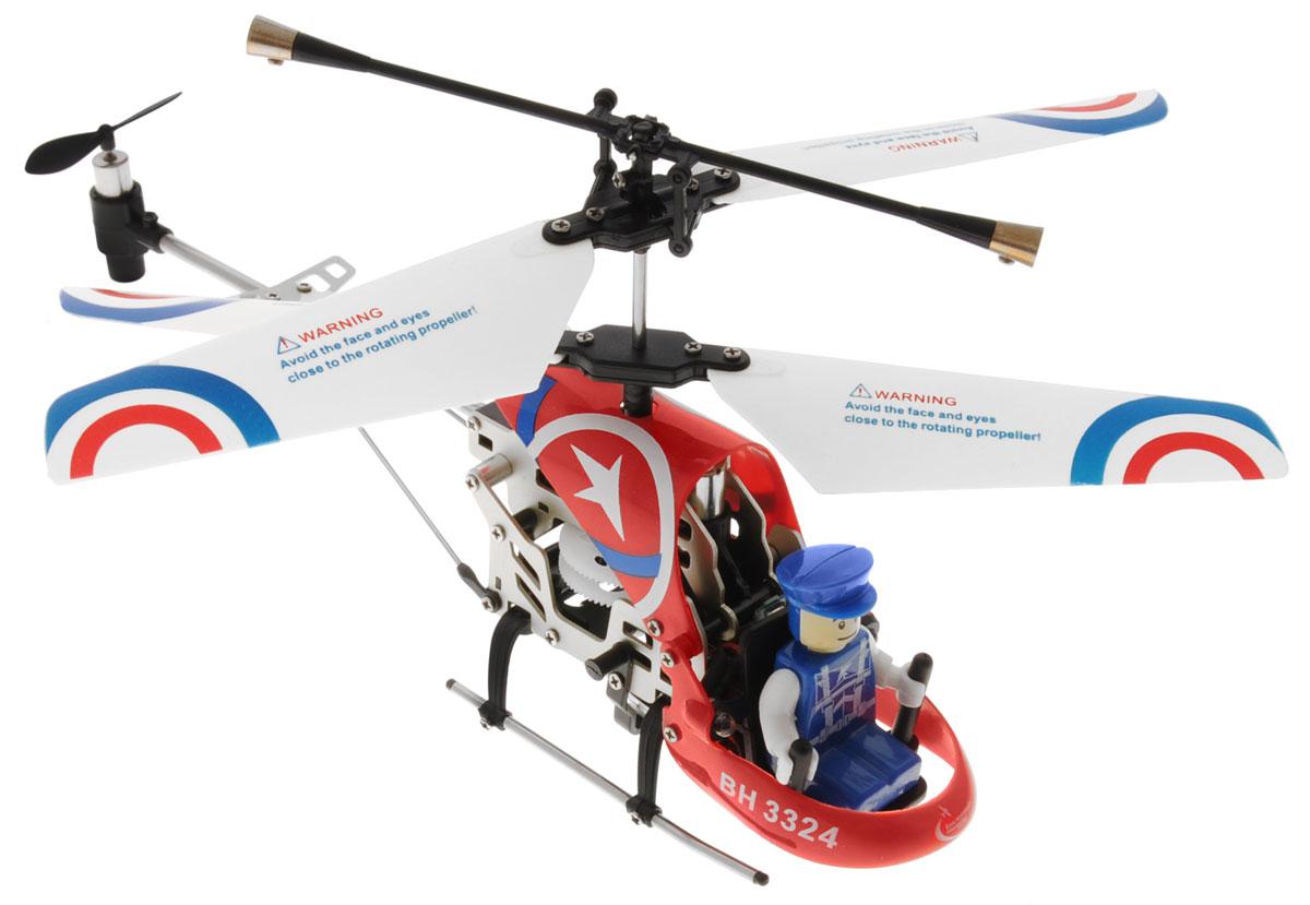 Властелин небес Вертолет на инфракрасном управлении Патруль цвет красный радиоуправляемый вертолет с инфракрасной пушкой и мишенью властелин небес красный