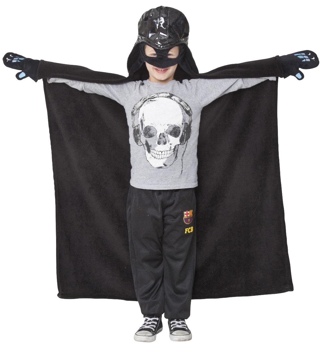 Star Wars Плед детский с капюшоном Darth Vader 100 см х 100 см15670Детский плед с капюшоном Star Wars Darth Vader – удивительная и многофункциональная вещь, от приобретения которой выиграют все. Родители, потому что получают для своих любимых чад тёплое и мягкое покрывальце. Дети, потому что мягкий плед может использоваться как накидка или пончо, а это отличная возможность преобразиться из мальчика или девочки в любимого героя. Данная текстильная продукция занимает высокие позиции на потребительском рынке благодаря своим оригинальным дизайнам и безопасным материалам.