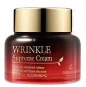 THE SKIN HOUSE Питательный крем разглаживающий морщины с женьшенем WRINKLE SUPREME, 50 мл822852Питательный крем разглаживающий морщины с женьшенем 50млЭкстракты 9 разновидностей редких грибов (антиоксидантное воздействие) и Женьшеня обеспечат кожу необходимым питанием. Вы почувствуете, что кожа стала более эластичной после первого же применения крема. В грибных экстрактах содержатся антиоксиданты для разглаживания морщин и предупреждения появления новых. В креме также содержится экстракт корня женьшеня, обеспечивающий коже длительное питание и придающий ей ухоженный и здоровый вид. Этот крем – «маст-хэв» для тех, кому нужно восстановить усталую, тусклую кожу.