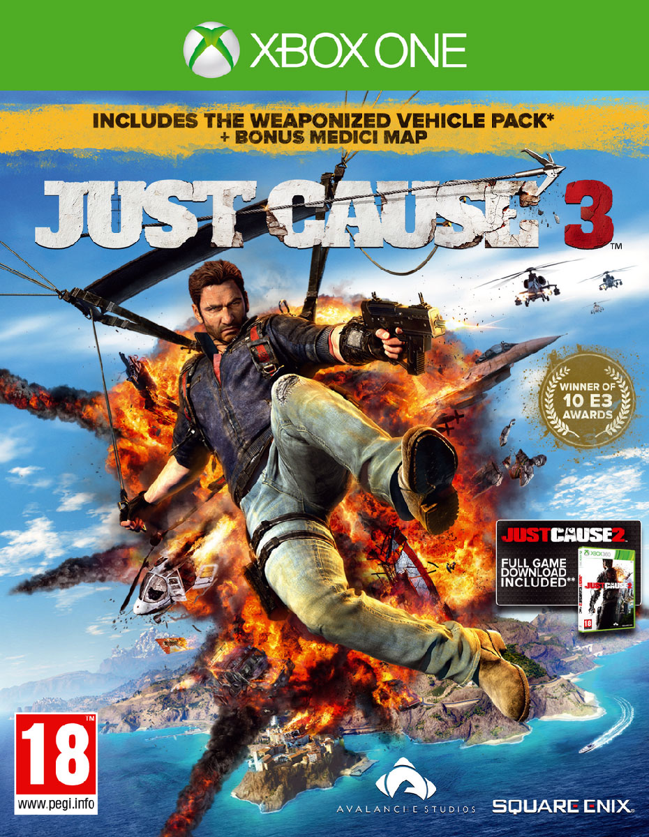 Just Cause 3. Day 1 Edition (Xbox One) xbox
