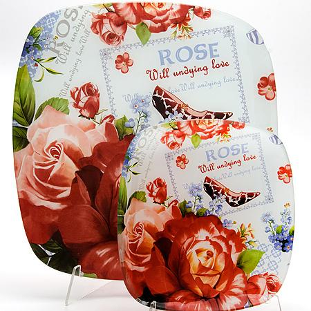 23916 Набор стеклянной посуды 7 предметов LR (х4)23916Набор тарелок 6пр+ тортовницаМатериал: СтеклоДиаметр: 35 см, 22.5см х 6Рисунок: ЦветыРазмер коробки: 31.8х9.6х31.8смВес: 2.85 кгНабор LORAINE состоит из шести углубленных тарелок и одного большого блюда, выполненных из закаленного стекла. Тарелки декорированы рисунком в виде цветов на красочном фоне. Они сочетают в себе изысканный дизайн с максимальной функциональностью. Оригинальность оформления тарелок придется по вкусу и ценителям классики, и тем, кто предпочитает утонченность и изящность. Набор тарелок послужит отличным подарком к любому празднику.