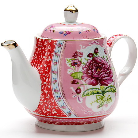 24 Заварочный чайник 1100мл с/кр керам LR (х12)24Заварочный чайник Материал: керамикаРисунок: цветыРазмер коробки: 22 х 16,5 х 15 смОбъем: 1100 млВес: 550 г Количество: 2 предметаЗаварочный чайник поможет вам в приготовлении вкусного и ароматного чая, а также станет украшением вашей кухни. Яркий дизайн придает чайнику особый шарм, он удобен в использовании и понравится каждому. Такой заварочный чайник станет приятным и практичным подарком на любой праздник.